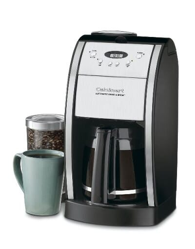 Cuisinart DGB550 BK Grind and Brew Coffeemaker 12 Cup